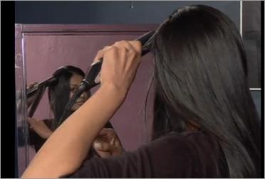 Как выпрямить волосы? Видео.