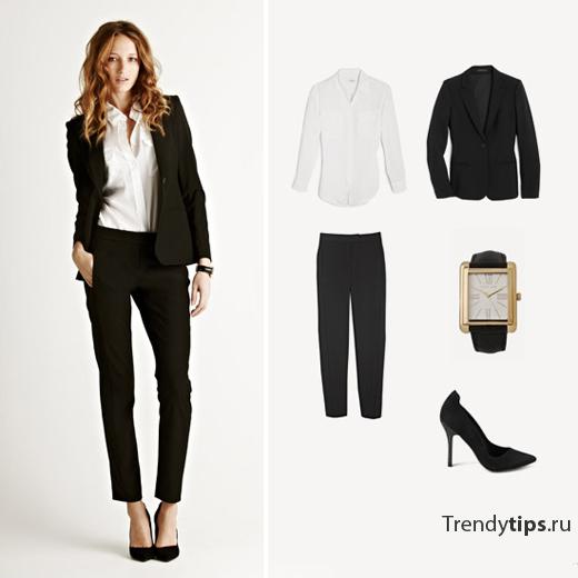 деловой стиль одежды фото