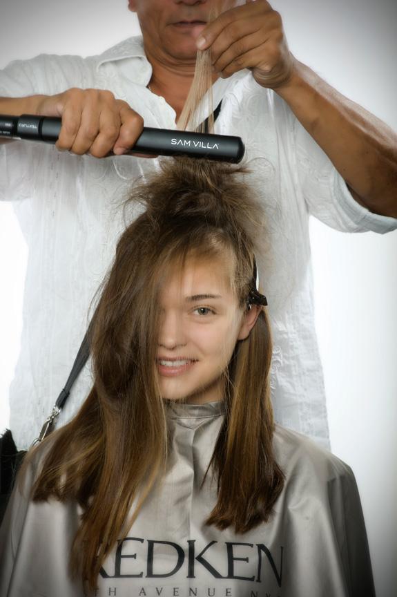 вечерняя прическа для длинных волос фото