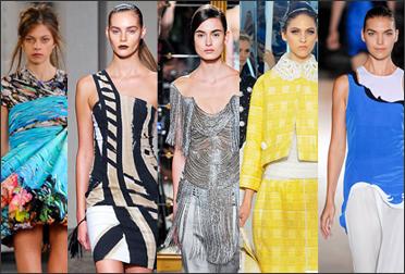 тенденции моды весна-лето 2012