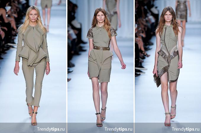 платье с баской, Givenchy