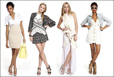 модные образы весна/лето 2012