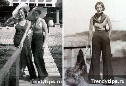С чем носить широкие брюки? (90 фото)