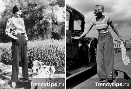 С чем носить широкие брюки?