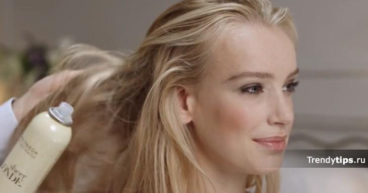бант из волос видео-инструкция