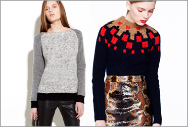 Модный свитер 2013. С чем носить?