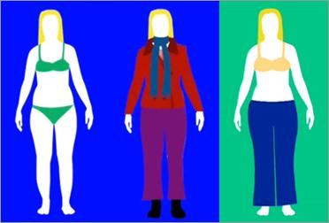 Тип фигуры груша. Как подобрать одежду, джинсы и купальник?