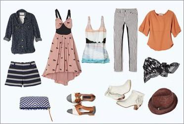 капсульный гардероб: одежда для лета и отпуска