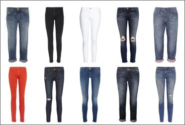 С чем носить джинсы? Рваные, белые, красные, бойфренд, скини.