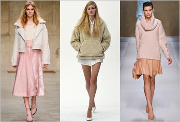 Сочетания цветов и примеры комплектов одежды для цветотипов светлая весна и светлое лето