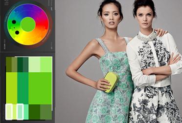 как сочетать цвета, принты и фактуры
